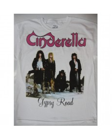 Cinderella – Long Cold Winter Tour '88-'89 White T-shirt