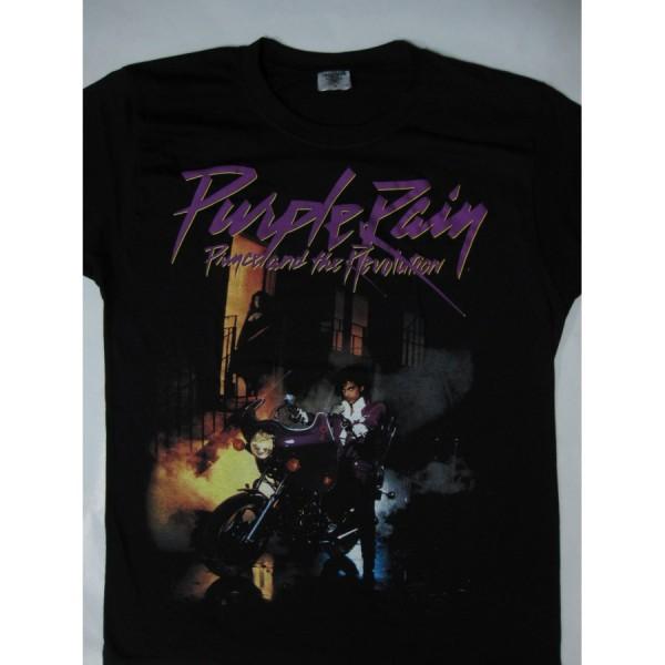 Prince and The revolution Purple Rain Tour 1984 T-Shirt