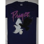 Prince – Purple Rain Tour 84-85 Tour Purple Color   T-shirt