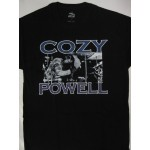 Cozy Powell -T-shirt Rainbow ,Whitesnake ,Black Sabbath