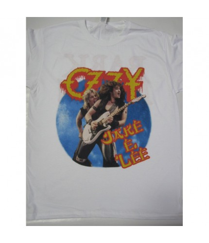 Ozzy Osbourne   - Bark at the Moon Tour '84 White T-shirt