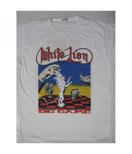 White Lion - Big Game Tour T-shirt