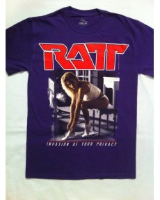 Ratt – Invasion Of Your Privacy Tour '85  Purple Color T-shirt