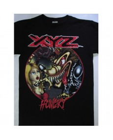 XYZ –  Hungry Tour 91- 92  T-shirt