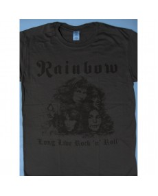 Rainbow – Long Live Rock'n'Roll Brown Color T-shirt