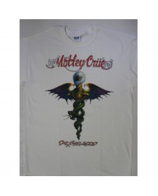 Motley Crue – Dr. Feelgood  White  T-shirt