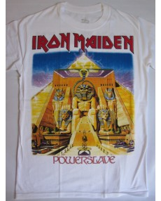Iron Maiden – Powerslave White T-shirt