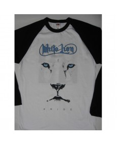 White Lion - Pride White Long Sleeve  T-shirt