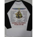 Iron Maiden -  Powerslave World Slavery 84-85 Long Sleeve