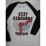 Ozzy Osbourne - Diary of a Madman Tour '82 Long Sleeve T-shirt