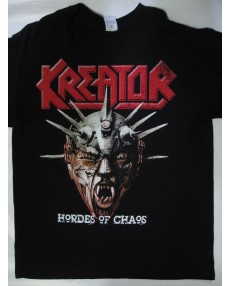 Kreator Hordes Of Chaos Tour T-shirt